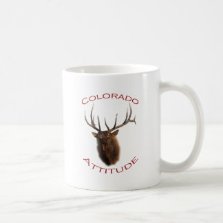 Colorado Attitude Basic White Mug