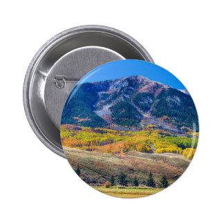 Colorado Autumn Air 6 Cm Round Badge