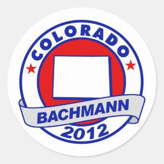 Colorado Bachmann Round Sticker