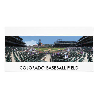 Colorado Baseball Field Photo Greeting Card