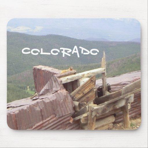 Colorado beaver mousepad