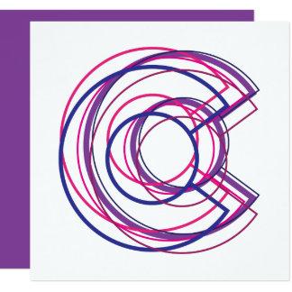 colorado biC 13 Cm X 13 Cm Square Invitation Card