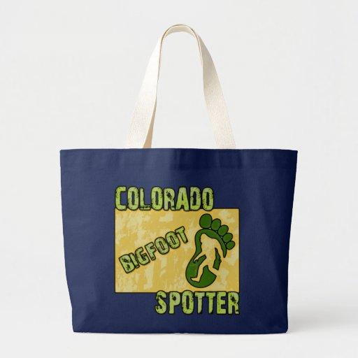 Colorado Bigfoot Spotter Canvas Bags