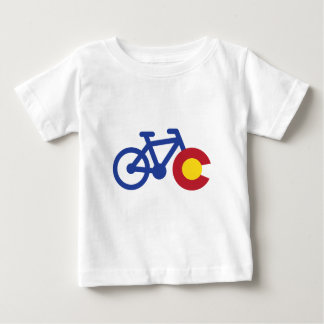 Colorado Bike Baby T-Shirt