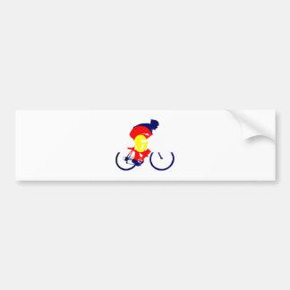 Colorado Biker Bumper Sticker