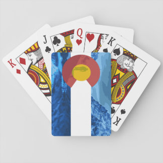 Colorado Biker playing cards