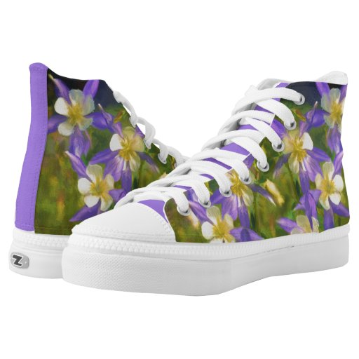 Colorado Blue Columbine High-top Sneakers