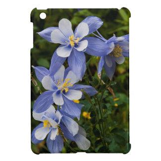 Colorado Blue Columbine near Telluride Colorado iPad Mini Case