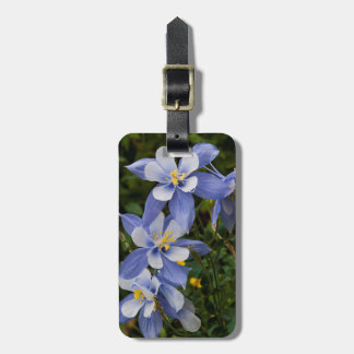 Colorado Blue Columbine near Telluride Colorado Luggage Tag