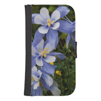 Colorado Blue Columbine near Telluride Colorado Samsung S4 Wallet Case