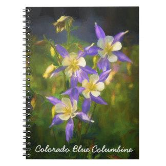 Colorado Blue Columbine Notebooks