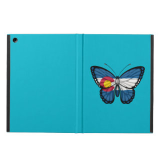 Colorado Butterfly Flag iPad Air Cover
