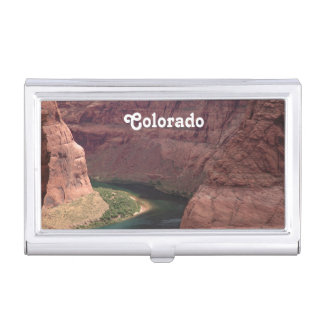 Colorado Canyon Business Card Holder