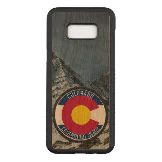 Colorado Circular Flag Carved Samsung Galaxy S8+ Case