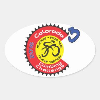 Colorado Climbing Challenge Sticker