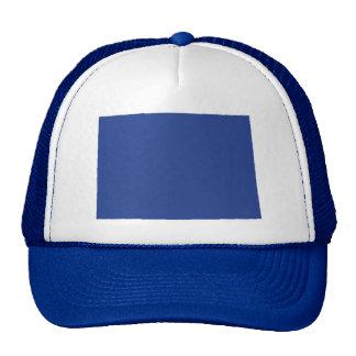 Colorado Cool Blue Snap Back Mesh Trucker Hat