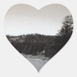 Colorado Creek Heart Sticker