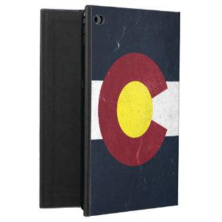Colorado Dark Grunge Flag