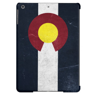 Colorado Dark Grunge Flag Case For iPad Air