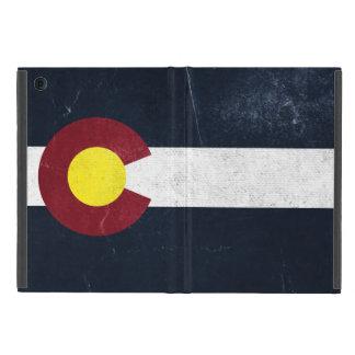 Colorado Dark Grunge Flag Cases For iPad Mini