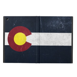 Colorado Dark Grunge Flag Cover For iPad Air