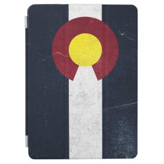 Colorado Dark Grunge Flag iPad Air Cover