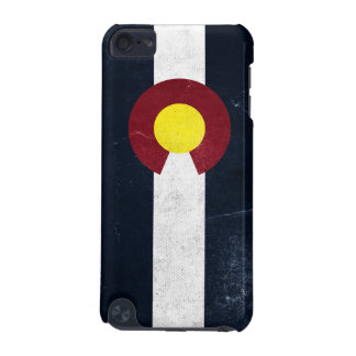 Colorado Dark Grunge Flag iPod Touch (5th Generation) Case
