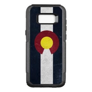Colorado Dark Grunge Flag OtterBox Commuter Samsung Galaxy S8+ Case
