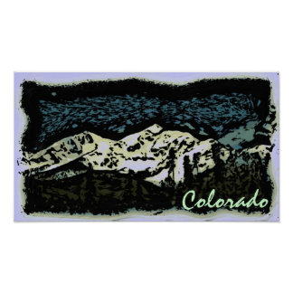 Colorado deco poster