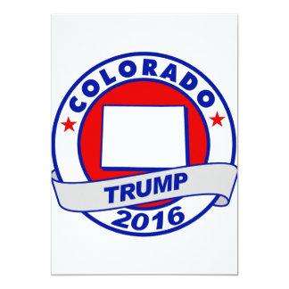 colorado Donald Trump 2016.png 13 Cm X 18 Cm Invitation Card