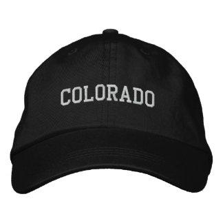 Colorado Embroidered Adjustable Cap Black