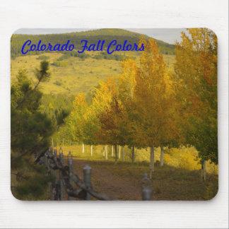 Colorado Fall Colors Mousepad