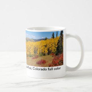 Colorado fall colour mug