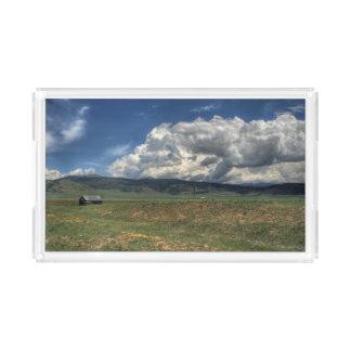 Colorado Farm Acrylic Tray