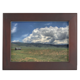 Colorado Farm Keepsake Box