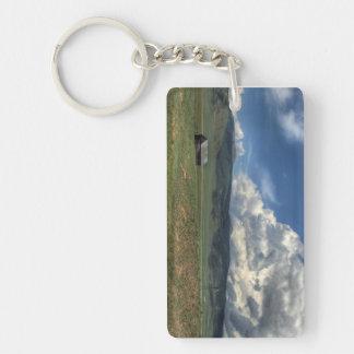 Colorado Farm Key Ring