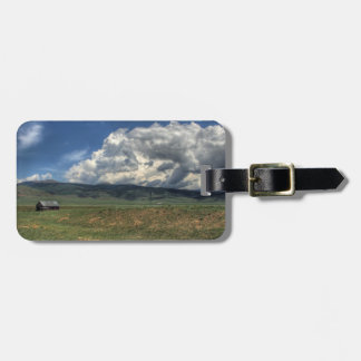 Colorado Farm Luggage Tag