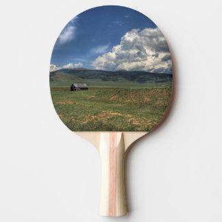 Colorado Farm Ping Pong Paddle