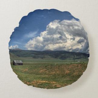 Colorado Farm Round Cushion