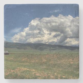 Colorado Farm Stone Coaster