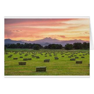 Colorado_Farmers_Burning_Sunset Card