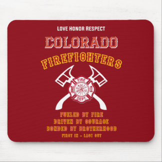 Colorado Firefighters Mousemat