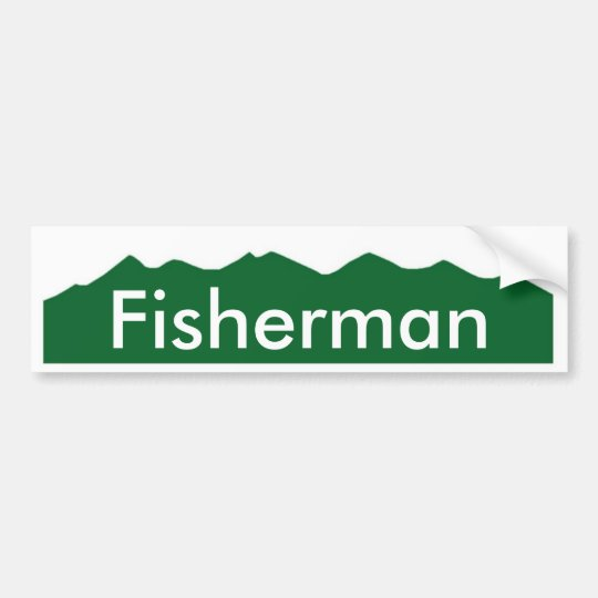 colorado Fisherman Bumper Sticker