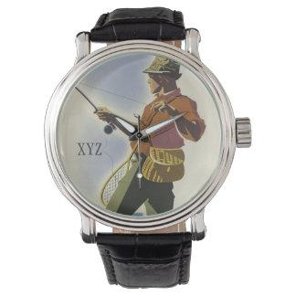 Colorado Fisherman Vintage Travel watches