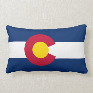 Colorado Flag American MoJo Pillow