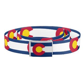 Colorado flag, American state flag Belt