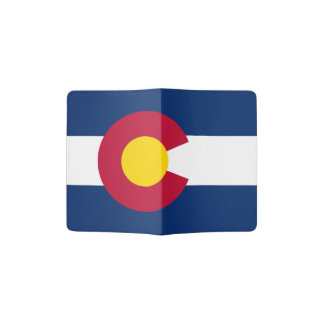 Colorado flag, American state flag Passport Holder