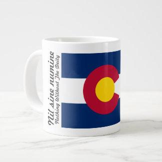 Colorado Flag and Motto 20 oz Mug