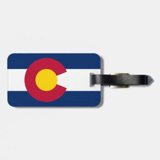 Colorado Flag Bag Tag