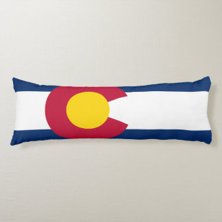 Colorado Flag Body Cushion